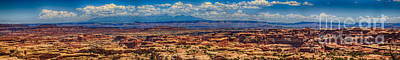 The Maze Panorama Art Print by Scotts Scapes