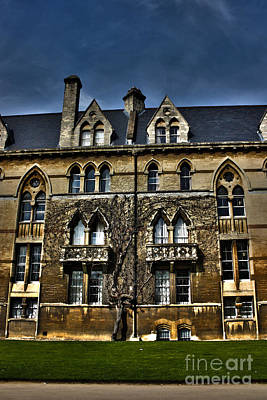 Photograph - The Meadow Building Christ Church College Oxford Hdr by Terri Waters