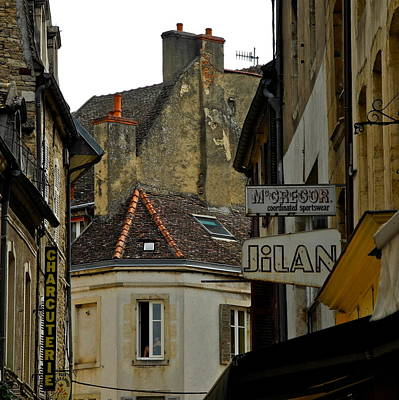 Photograph - The Medieval City Of Beaune by Kirsten Giving