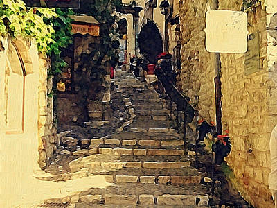 Photograph - The Steps To Paradise by Alan Lakin