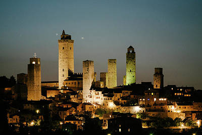 The Medieval Town Of San Gimignano Art Print by Matt Propert