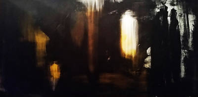 Samhain Painting - The Meeting by Bojana Randall