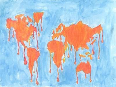 The Melting Pot Art Print by Maxwell Hanson