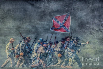 The Men From Old Virginia Print by Randy Steele