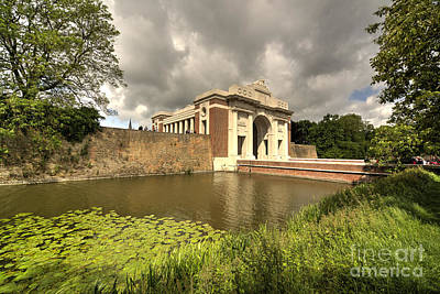 Ypres Photograph - The Menin Gate  by Rob Hawkins