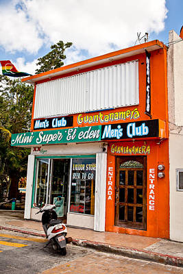 Photograph - The Men's Club by Melinda Ledsome