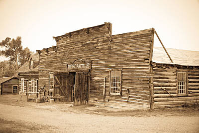 Photograph - The Mercantile by Steve McKinzie