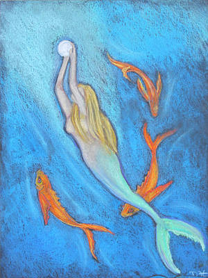 Pastel - The Mermaid by Diana Haronis