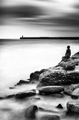 Mermaid Photograph - The Mermaid by Ian Hufton