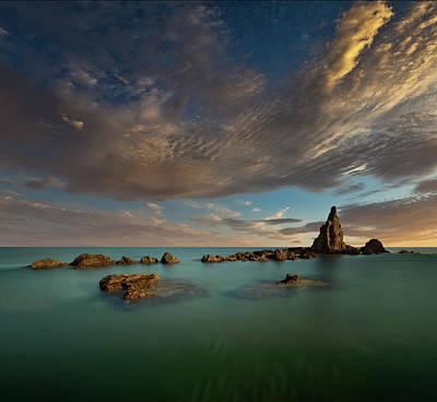 Coast Wall Art - Photograph - The Mermaids Reef by Martin Zalba