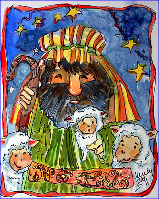 The Merry Shepherd Original by Mindy Newman