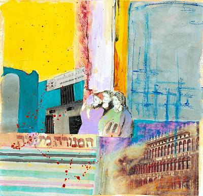 Ruins Mixed Media - The Message by Jillian Goldberg