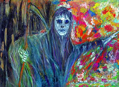 The Messenger Art Print by Azul Fam