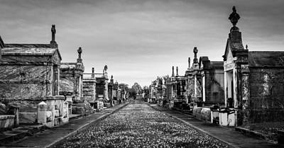 The Metairie Cemetery Art Print