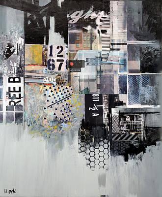 Metro Art Mixed Media - The Metro Connection by James Hudek