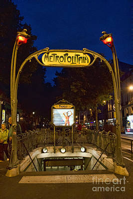 Photograph - The Metropolitain #2 by Crystal Nederman