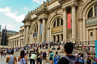 Photograph - The Metropolitan Museum Of Art by Ann Murphy