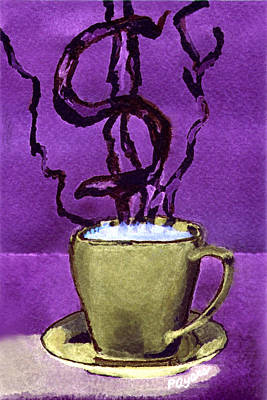 Painting - The Midas Cup by Paula Ayers