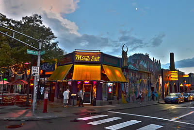 Photograph - The Middle East In Central Square Cambridge Ma by Toby McGuire