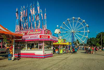 Metal Photograph - The Midway 3 by Steve Harrington