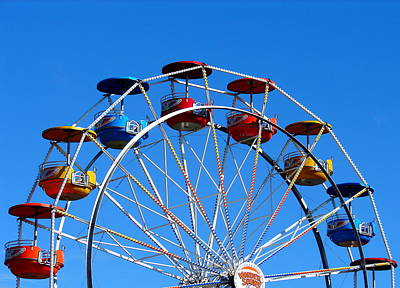 Photograph - The Midway At Islendingadagurinn by Ramona Johnston