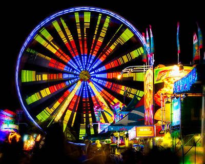 Photograph - The Midway by Mark Andrew Thomas