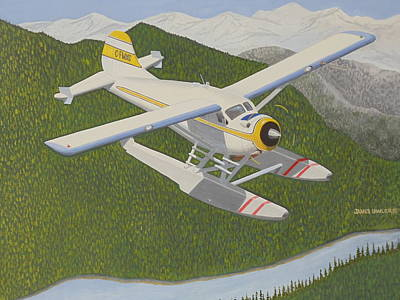 Painting - The Mighty Beaver by James Lawler