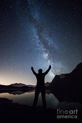 The Mighty Milky Way Art Print