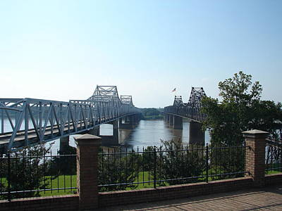 Photograph - The Mighty Mississippi by Lew Davis
