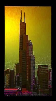 Digital Art - The Mighty Sears by Zac AlleyWalker Lowing