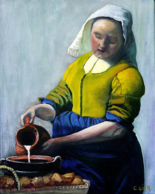 Painting - The Milkmaid by Catherine Link