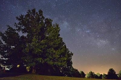 Jeka World Photograph - The Milky Way by Jeff Rose