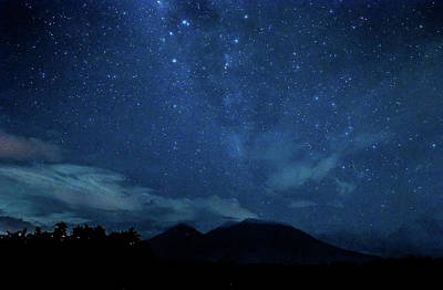 Photograph - The Milky Way Over Mt. Banahaw De Lucban by Gilbert Rondilla Photography