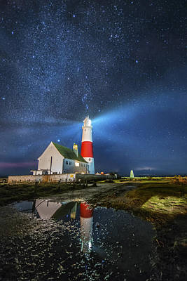 The Milkyway Lighthouse Art Print