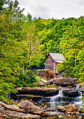 Grist Mill Photograph - The  Mill At Babcock by Steve Harrington