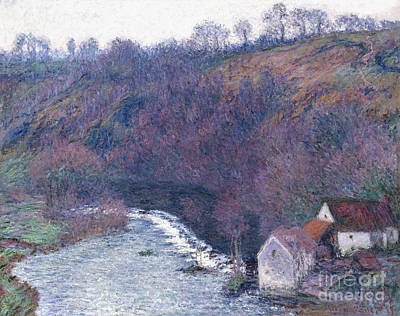 Nature Scene Painting - The Mill At Vervy by Claude Monet