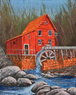 The Mill Art Print