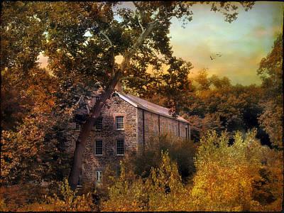 Photograph - The Mill Restoration by Jessica Jenney