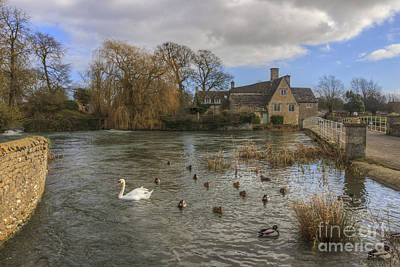 Photograph - The Millhouse At Fairford by Clare Bambers
