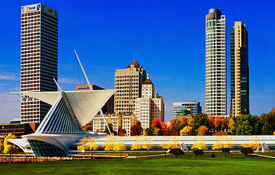 The Milwaukee Art Museum Art Print