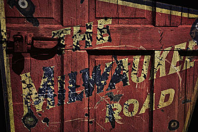 Brakeman Photograph - The Milwaukee Road Railroad by Daniel Hagerman