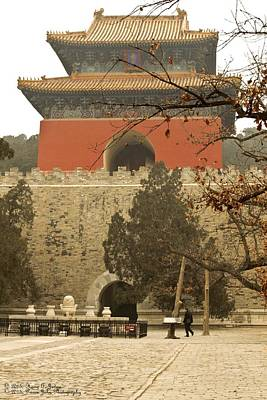 Photograph - The Ming Tombs - Burial Chamber Of Yongle Emperor  by Hany J