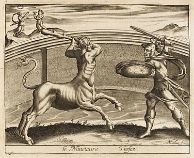 The Minotaur - Half Man, Half  Bull - Art Print