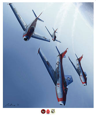 Jet Painting - The Minutemen by Hangar B Productions