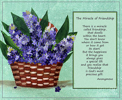 The Miracle Of Friendship Art Print by Barbara Griffin
