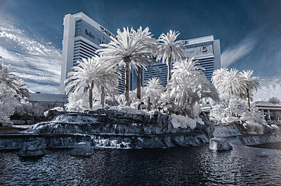 Photograph - The Mirage In Infrared 2 by Jason Chu