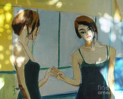 Painting - The Mirror Has Two Faces2 by Judy Kay
