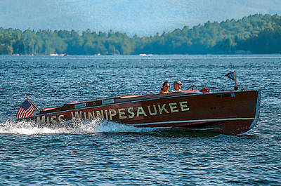 Photograph - The Miss Winnipesaukee by Brenda Jacobs