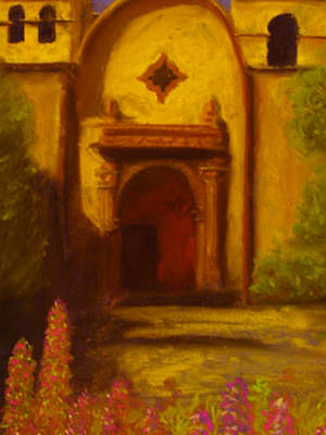 Pastel - The Mission by Barbara J Blaisdell