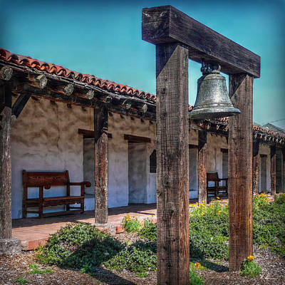 Photograph - The Mission Bell by Hanny Heim